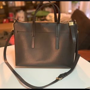 Zara black bag